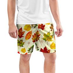 Шорты спортивные мужские Осень цвета 3D — фото 2