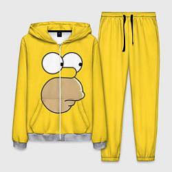 Костюм мужской Лицо Гомера цвета 3D-меланж — фото 1