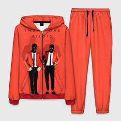Костюм мужской Twenty One Pilots цвета 3D-красный — фото 1