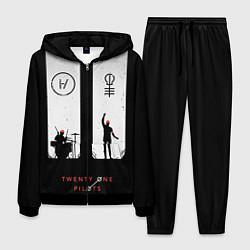 Костюм мужской Twenty One Pilots: Lines цвета 3D-черный — фото 1