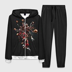 Костюм мужской Michael Jordan Style цвета 3D-белый — фото 1