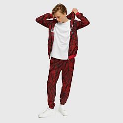 Костюм мужской Cs:go - Crimson Web Style Factory New Кровавая пау цвета 3D-красный — фото 2