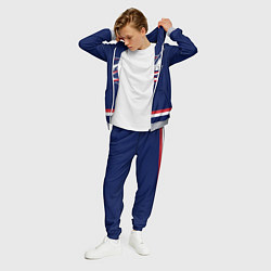 Костюм мужской Columbus Blue Jackets цвета 3D-меланж — фото 2