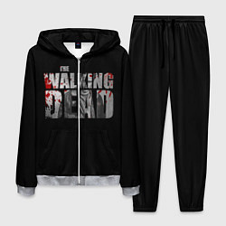 Костюм мужской The Walking Dead: RIck цвета 3D-меланж — фото 1