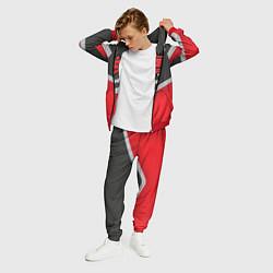 Костюм мужской HellRaisers Uniform цвета 3D-красный — фото 2