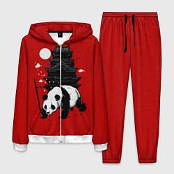 Костюм мужской Panda Warrior цвета 3D-белый — фото 1