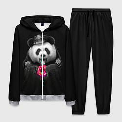 Костюм мужской Donut Panda цвета 3D-меланж — фото 1