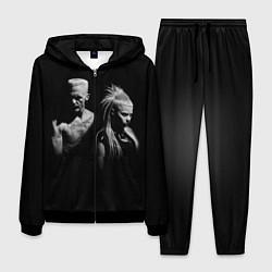 Костюм мужской Die Antwoord: Black цвета 3D-черный — фото 1