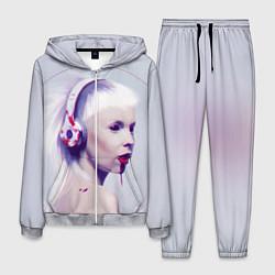 Костюм мужской Die Antwoord: Wild Eyes цвета 3D-меланж — фото 1