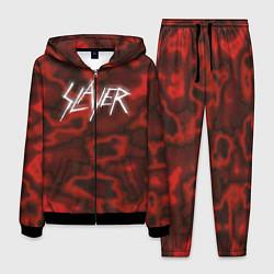 Костюм мужской Slayer Texture цвета 3D-черный — фото 1