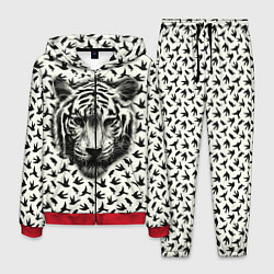Костюм мужской Tiger Dreams цвета 3D-красный — фото 1