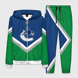 Костюм мужской NHL: Vancouver Canucks цвета 3D-белый — фото 1