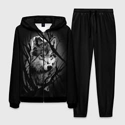 Костюм мужской Серый волк цвета 3D-черный — фото 1