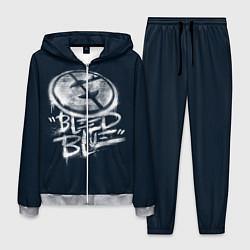 Костюм мужской Bleed Blue цвета 3D-меланж — фото 1