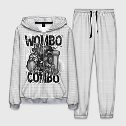 Костюм мужской Combo Wombo цвета 3D-меланж — фото 1