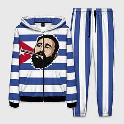 Костюм мужской Fidel Castro цвета 3D-черный — фото 1