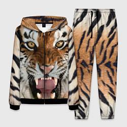 Костюм мужской Свирепый тигр цвета 3D-черный — фото 1