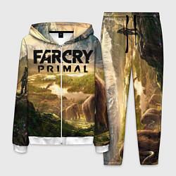 Костюм мужской Far Cry: Primal цвета 3D-белый — фото 1
