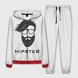 Костюм мужской Hipster цвета 3D-красный — фото 1