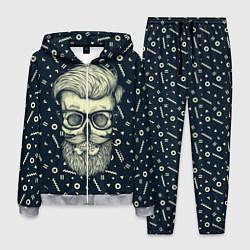 Костюм мужской Hipster is Dead цвета 3D-меланж — фото 1