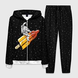 Костюм мужской Сладкая ракета цвета 3D-белый — фото 1