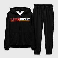 Костюм мужской Limp Bizkit цвета 3D-черный — фото 1