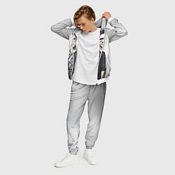 Костюм мужской Skrillex Boy цвета 3D-белый — фото 2