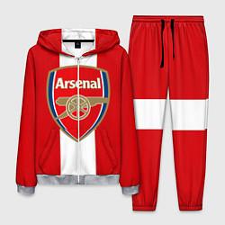 Костюм мужской Arsenal FC: Red line цвета 3D-меланж — фото 1