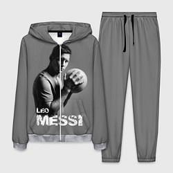 Костюм мужской Leo Messi цвета 3D-меланж — фото 1