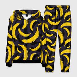 Костюм мужской Бананы цвета 3D-черный — фото 1