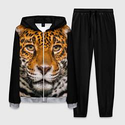 Костюм мужской Взгляд ягуара цвета 3D-меланж — фото 1