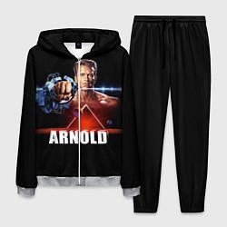 Костюм мужской Iron Arnold цвета 3D-меланж — фото 1