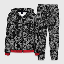 Костюм мужской Zombie rush цвета 3D-красный — фото 1