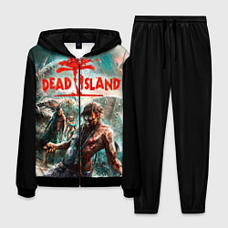 Костюм мужской Dead Island цвета 3D-черный — фото 1