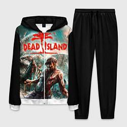 Костюм мужской Dead Island цвета 3D-белый — фото 1