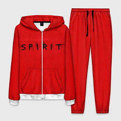 Костюм мужской DM: Red Spirit цвета 3D-белый — фото 1