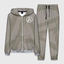 Костюм мужской Linkin Park: Grey style цвета 3D-меланж — фото 1