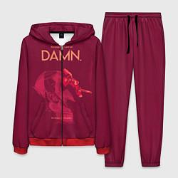 Костюм мужской Damn: Sin down be humble цвета 3D-красный — фото 1