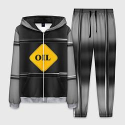 Костюм мужской Oil цвета 3D-меланж — фото 1