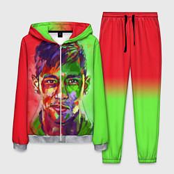Костюм мужской Neymar Art цвета 3D-меланж — фото 1
