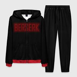 Костюм мужской BERSERK цвета 3D-красный — фото 1