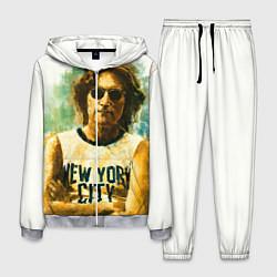Костюм мужской John Lennon: New York цвета 3D-меланж — фото 1