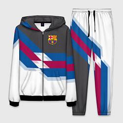 Костюм мужской Barcelona FC: White style цвета 3D-черный — фото 1