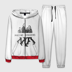 Костюм мужской Imagine Dragons: White цвета 3D-красный — фото 1