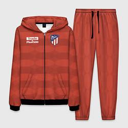 Костюм мужской Atletico Madrid: Red Ellipse цвета 3D-черный — фото 1