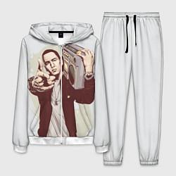 Костюм мужской Eminem: Street Music цвета 3D-белый — фото 1