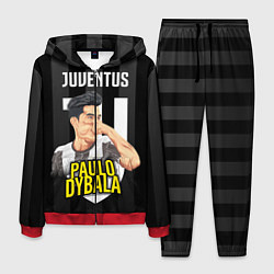 Костюм мужской FC Juventus: Paulo Dybala цвета 3D-красный — фото 1