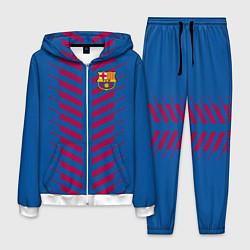 Костюм мужской FC Barcelona: Creative цвета 3D-белый — фото 1