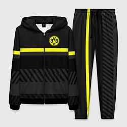 Костюм мужской FC Borussia 2018 Original #3 цвета 3D-черный — фото 1