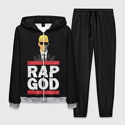 Костюм мужской Rap God Eminem цвета 3D-меланж — фото 1